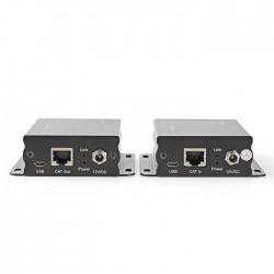 NEDIS VREP3460AT HDMI CAT5/6 Extender 4K@30Hz Up to 50.0m HDMI Input+RJ45 Female