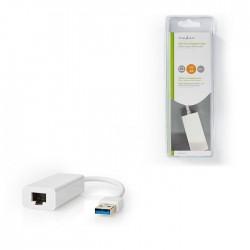 NEDIS CCGB61950WT02 USB 3.0-Adapter USB-A Male - RJ45 Female 1 Gbit 0,2 m White