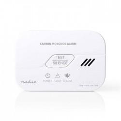 NEDIS DTCTCO30WT Carbon Monoxide Detector Low-Battery Alert 10-Year Sensor Life