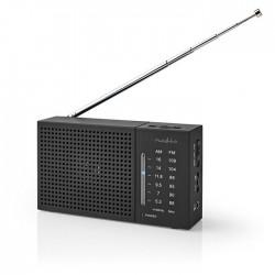 NEDIS RDFM1200BK FM / AM Radio 1.5 W Pocket-Size Black