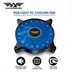 ARMAGGEDDON RGB LIGHT PC COOLING FAN NEURON GALAXY