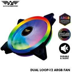 ARMAGGEDDON PC COOLING FAN ARGB TX DUAL LOOP-12