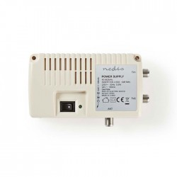 NEDIS SPIN100WT Satellite Power Inserter 2x F Output Insertion loss: -5 dB