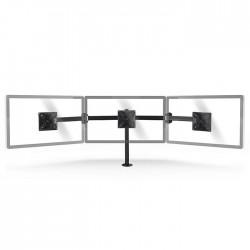 NEDIS ERGOTMM100BK Ergonomic Monitor Mount Triple Monitor Arm Full Motion Black