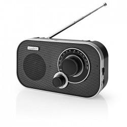 NEDIS RDFM1320SI FM Radio 1.5 W Carrying Handle Silver / Black