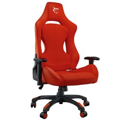 WHITE SHARK GAMING CHAIR MONZA RED