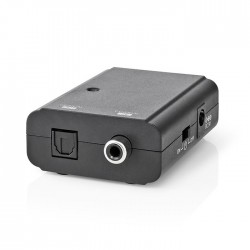 NEDIS ACON2505BK Digital Audio Converter 1-way Digital RCA Female Toslink Female