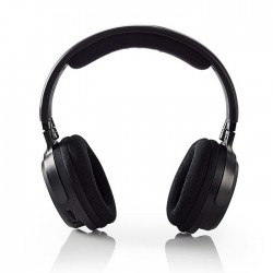 NEDIS HPRF200BK Wireless TV Headphones RF On-Ear Battery play time: up to 15 Hou