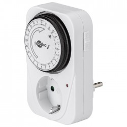 51276 Mechanical timer, controls electronic devices easily and precisely