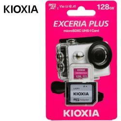 KIOXIA 4K MICRO SD 128GB EXCERIA PLUS UHS I U3 WITH ADAPTER M303