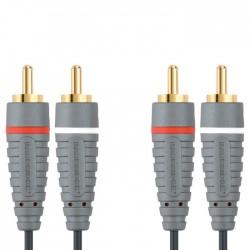BAL4201 2x RCA M - 2x RCA M 1m
