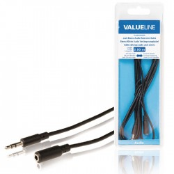 VLAB 22050B 2.00 cable 3.5 mm male - 3.5 mm female