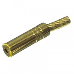 JC-131 3.5mm STEREO SOCKET GOLD