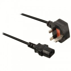 VLEP 11100B 2.00 Power cable UK plug male