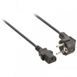 VLEP 10000B 10,00 POWER CABLE SCHUKO ANGLED MALE