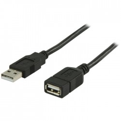 VLCP 60010 B2.00 USB 2.0 USB A male - USB A female extension cable 2.00 m