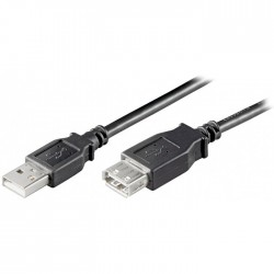 68622 USB 2.0 HI-SSPEED EXTENSION CHARGING CABLE 0.3m