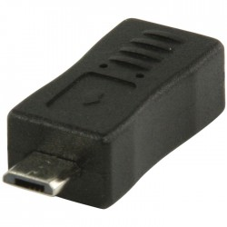 VLCP 60904B USB 2.0 USB mini B female - USB micro B male adapter
