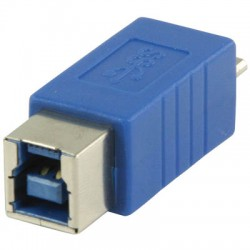VLCP 61903L USB 3.0 USB B female - USB micro B male adapter