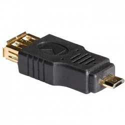 KNC 60901E USB 2.0 adapter Micro B male - A female