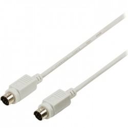 VLCP 51000 I2.00 IVORY PS2 cable PS2 male - PS2 male