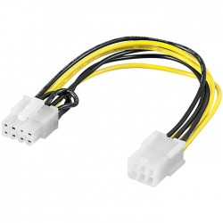 93635 PCI Express 6 pin > PCI Express 8 pin