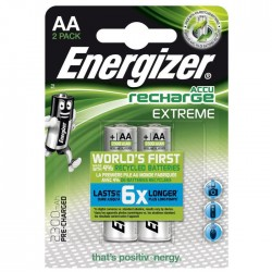 ENERGIZER AA-HR6/2300mAh/2TEM EXTREME RECHARGEABLE     F016503
