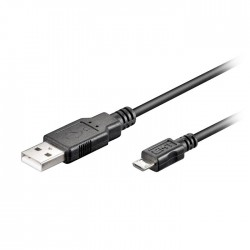 93918 USB 2.0 Hi-Speed cable 1m - USB 2.0 male (type A) /USB 2.0 micro male (typ