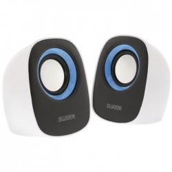SWEEX SW20SPS110BU SPEAKER SET 2x4W WHITE/BLUE