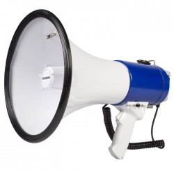 SWEEX SWMEGA 25 Megaphone Detachable Microphone White/Blue