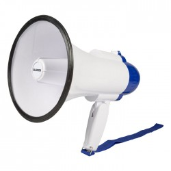 SWEEX SWMEGA 10 Megaphone Built-In Microphone White/Blue