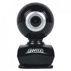 SWEEX WC035V2 Webcam USB 0.3 MPixel SD Plastic Black/Silver
