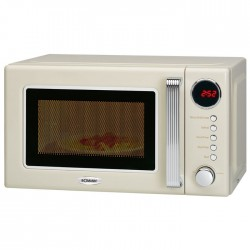 MWG 2270 CB RETRO MICROWAVE WITH GRILL BEIGE