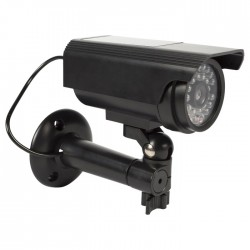 SAS-DUMMY 111B Bullet Dummy Camera IP44 Black