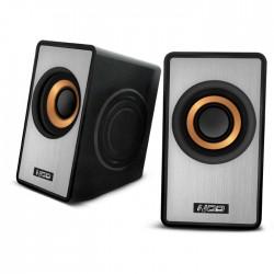 NOD SideFX SPK-003 Speaker 2.0 2x3W,black/silver