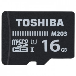 TOS MICROSDHC M203 16GB CLASS10 UHS I U1 WITH ADAPTER / THN-M203K0160EA
