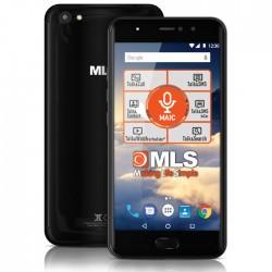 """MLS DX 5.5"""" 4G BLACK DUAL CAMERA DUAL SIM"""