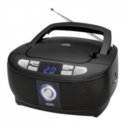 SR 4379 BLACK CD STEREO RADIO