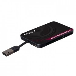 PNY FLASHREAD-HIGPER-BX CARD READER 3.0 HIGH PERFORMANCE