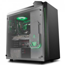 DEEPCOOL BARONKASE LIQUID BLACK ATX CASE