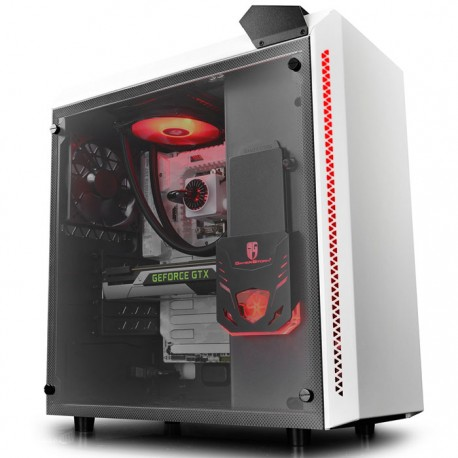 DEEPCOOL BARONKASE LIQUID WHITE ATX CASE