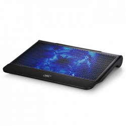 DEEPCOOL N6000 NOTEBOOK COOLER WITH BLUE LED FAN