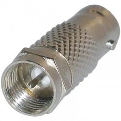FC-023 ADAPTOR BNC SOCKET TO F PLUG