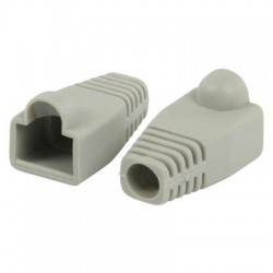 VLCP 89900E RJ45 strain relief boot grey