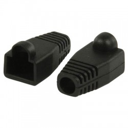 VLCP 89900B RJ45 strain relief boot black