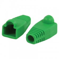 VLCP 89900G RJ45 strain relief boot green