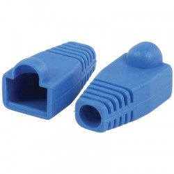 VLCP 89900L RJ45 strain relief boot blue