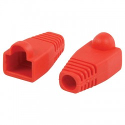 VLCP 89900R RJ45 strain relief boot red