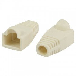 VLCP 89900W RJ45 strain relief boot white