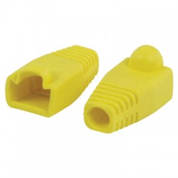 VLCP 89900Y RJ45 strain relief boot yellow